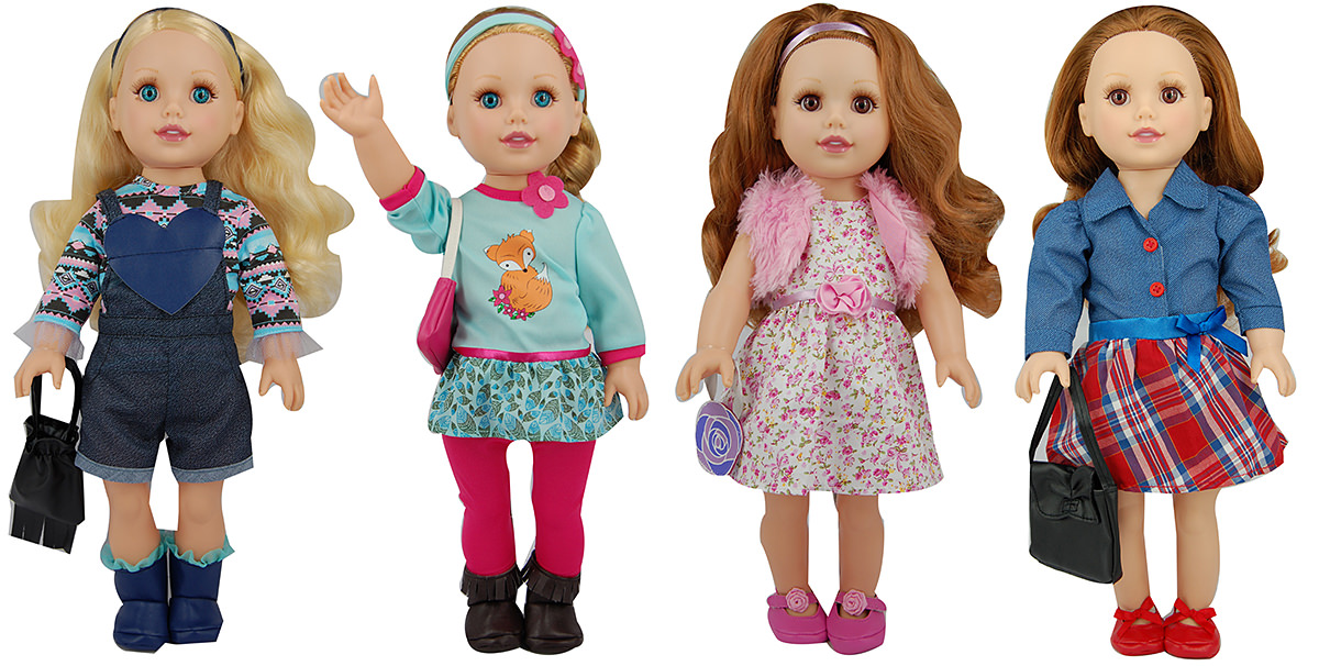 Style Girls 18in Fashion Dolls New Adventures